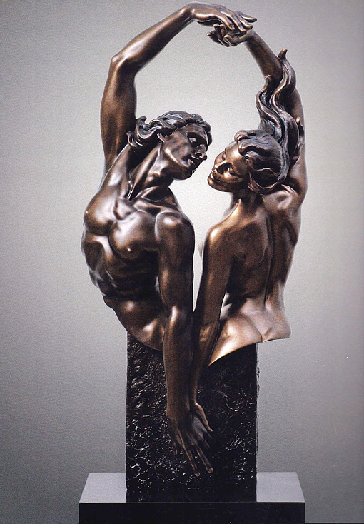 Gaylord Ho - Dance of Passion Bronze Sculpture