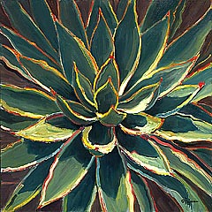Pejman - Agave oil painting