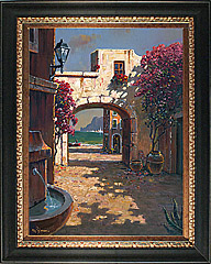 Pejman Archway to the Sea original oil