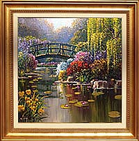 Monet's Garden - Giverny 30x40