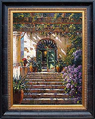 Pejman - Green Door in Villa LeScale Capri