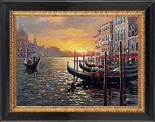 Bob Pejman - Sunset on the Grand Canal - Venice