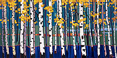 Pejman Aspens in Blue